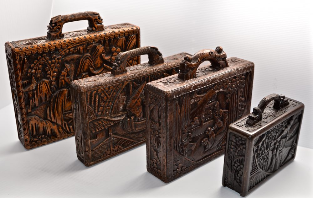 LAW 21_0757_J. Carved Puzzle Boxes.